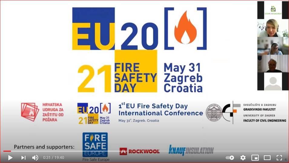Uspješno održana 1. međunarodna konferencija EU Fire Safety Day